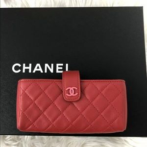 Chanel o-case wallet card holder New
